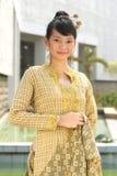 Fille asiatique attirante Image libre de droits