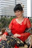 Fille asiatique attirante Photo libre de droits