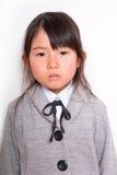 Fille asiatique d'étudiant Photographie stock libre de droits