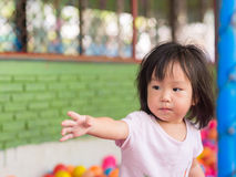 Fille asiatique heureuse image stock