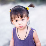 Fille asiatique mignonne Photographie stock