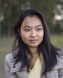 Fille asiatique mignonne photo libre de droits