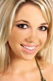Fille assez blonde Images libres de droits