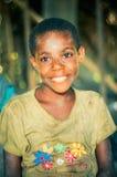 Fille avec de beaux yeux Images libres de droits