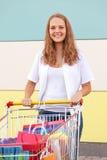 Jeune acheteur Photo libre de droits
