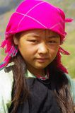 Fille blanche de Hmong Photos stock