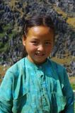Fille blanche de Hmong Photo stock