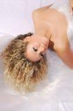 Fille blonde Photos libres de droits