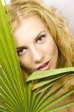 Fille blonde Photographie stock libre de droits