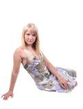 Fille blonde Photo libre de droits