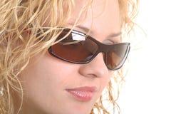 Fille blonde Image libre de droits