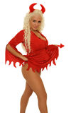 Diable blond sexy Image stock