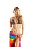 Fille chaude sexy de bikini de passion Photo stock