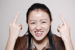 Fille chinoise asiatique Photo stock