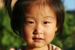 Fille chinoise heureuse Photo libre de droits