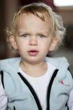Fille confuse Photos libres de droits