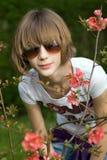 Fille créole d'adolescent photographie stock