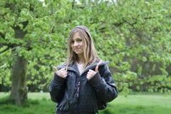 Fille créole d'adolescent photographie stock libre de droits