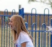 Fille créole d'adolescent photo stock