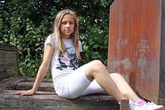Fille créole d'adolescent photos libres de droits