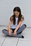 Fille créole d'adolescent images libres de droits