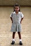 Fille d'école Photographie stock libre de droits