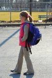 Fille d'école photos libres de droits