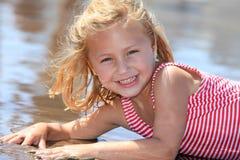 Fille d'été Photographie stock libre de droits