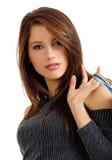 Fille d'achats sexy Images libres de droits