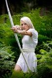 Fille d'Amazone Photographie stock libre de droits