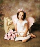 Fille d'ange Photo libre de droits