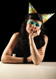 Fille d'anniversaire Photographie stock libre de droits