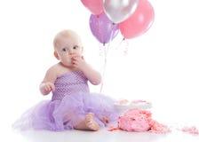 Fille d'anniversaire photos libres de droits