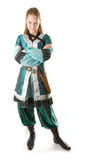 Fille d'elfe Image libre de droits