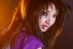 Fille d'Emo Photo stock