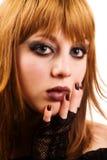 fille d'emo gothique photos libres de droits