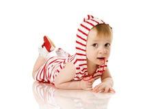 Fille d'enfant en bas âge photo stock