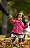 Fille d'enfant en bas âge Photographie stock libre de droits