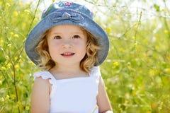 Fille d'enfant en bas âge Photos stock