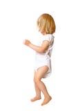 Fille d'enfant en bas âge de danse Image libre de droits