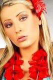 Fille d'Hawaï Images stock