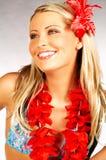 Fille d'Hawaï Image libre de droits