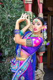 Fille d'Inde Photographie stock