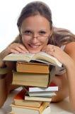 Fille d'étudiant Image stock