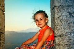 Fille d'ute de ¡ de Ð petite Photos stock