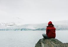 Fille dans la méditation Photographie stock libre de droits
