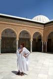 Fille dans la mosquée Image libre de droits