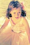 Fille dans la robe féerique de ballerine Images libres de droits