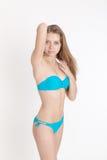 Fille dans le bikini Photos libres de droits