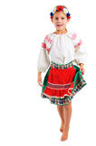 Fille dans le costume national ukrainien Image stock